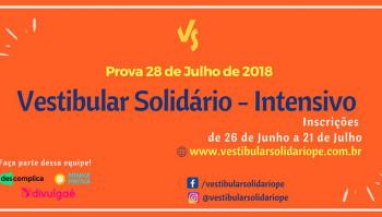 Processo Seletivo Vestibular Solidário  - Intensivo